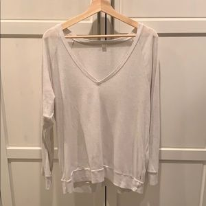 TNA slouchy wise neck long sleeve Size M